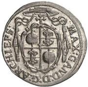 2 kreuzer Max Gandolf von Kuenburg -  avers