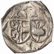 1 pfennig Leonhard von Keutschach – avers