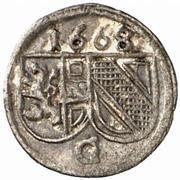 1 pfennig Guidobald von Thun – avers