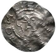 1 pfennig Balduin (Henri III) – avers