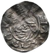 1 pfennig Balduin (Henri III) – revers