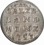 4 kreuzer Sigismund von Schrattenbach -  revers