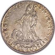 1 thaler  Sigismund von Schrattenbach (type 2) -  revers