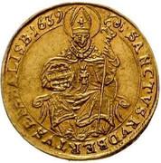 1 ducat Paris von Lodron -  revers