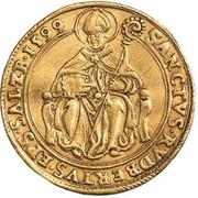 2 ducats Wolf Dietrich von Raitenau -  revers