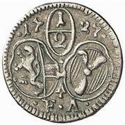 ½ kreuzer Franz Anton von Harrach -  avers