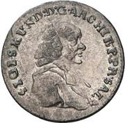 1 kreuzer Sigismund von Schrattenbach -  avers