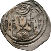 1 pfennig Eberhard II von Regensberg (Friesach) – avers