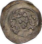 1 pfennig Friedrich II von Walchen – revers