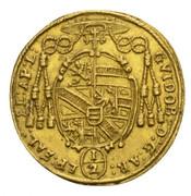 ½ ducat Guidobald von Thun -  avers