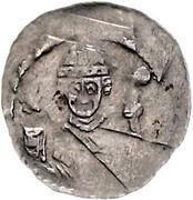 1 pfennig Adalbert III de Bohême – avers