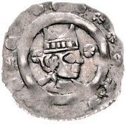 1 pfennig Eberhard II von Regensberg – avers