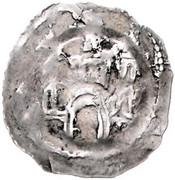 1 pfennig Eberhard II von Regensberg – revers