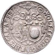 ½ thaler Wolf Dietrich von Raitenau -  avers