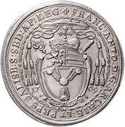 ½ thaler Franz Anton von Harrach -  avers