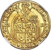 2 Ducat - Johann Jakob Khuen von Belasi (Rudolf II) -  avers