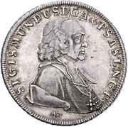1 Thaler - Sigismund von Schrattenbach -  avers
