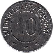 10 pfennig - Salzungen – revers
