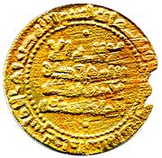Dinar - Mansur I b. Nuh – avers
