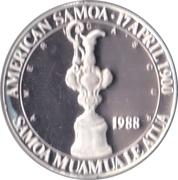 5 Dollars (Coupe de l'America) – avers