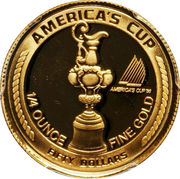 50 dollars (Coupe de l'America) – revers