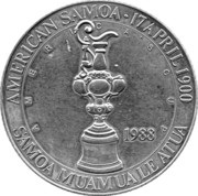 25 dollars (Coupe de l'America) – avers