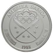 25 dollars (Jeux olympiques Séoul 1988) – avers