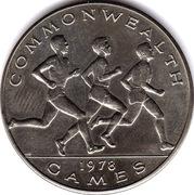 1 tala (jeux du Commonwealth) – revers