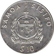 Samoa Captain Cook – avers