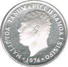 10 Sene - Malietoa Tanumafili II – avers