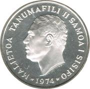 50 Sene - Malietoa Tanumafili II – avers