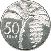 50 Sene - Malietoa Tanumafili II – revers