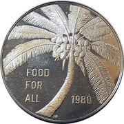 10 tala (Food For All) – revers