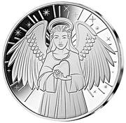 ½ dollar (Ange gardien) – revers