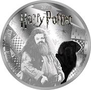 ½ Dollar(Rubeus Hagrid) – revers