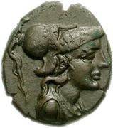 Bronze Æ16 (Samothrace) – avers