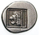 Hemiobol (Samothrace) – revers