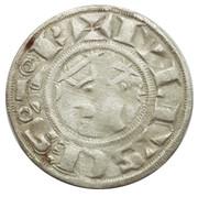 Denier - Guillaume III ou Louis Ier – avers
