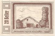 20 Heller (St. Agatha) -  avers