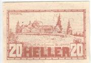 20 Heller (Sankt Johann am Wimberg) -  avers