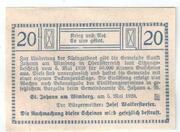 20 Heller (Sankt Johann am Wimberg) -  revers