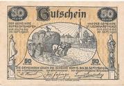 50 Heller (St. Leonhard am Forst und Ruprechtshofen) -  revers