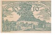 10 Heller (St. Magdalena bei Linz) – avers