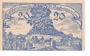 20 Heller (St. Magdalena bei Linz) – avers