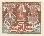 50 Heller (St. Marienkirchen bei Schärding) -  avers