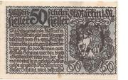 50 Heller (St. Martin im Mühlkreis) -  revers