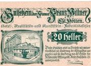 20 Heller (St. Pölten; Firma Franz Pittner) – avers