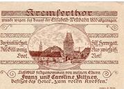 50 Heller (St. Pölten; Firma Franz Pittner) – revers