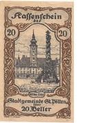 20 Heller (St. Pölten) – avers