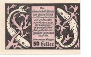 50 Heller (St. Roman) – avers